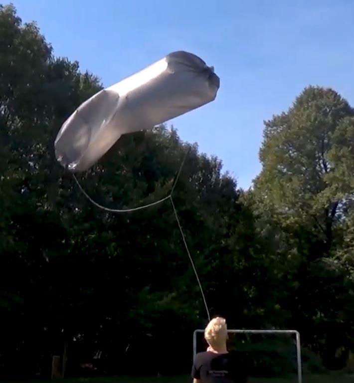 Fliegender Solarzeppelin