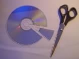 CD als Beugungsgitter CD