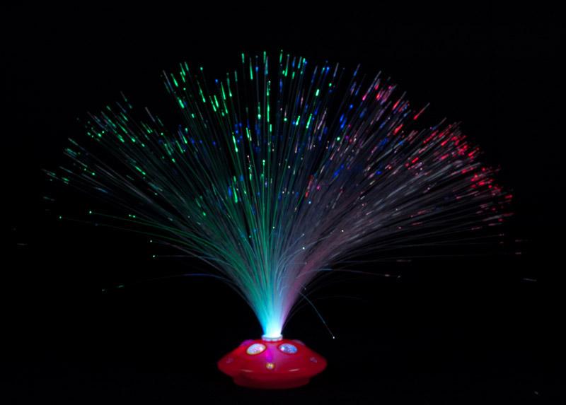 Lichtleiter in einer Lampe