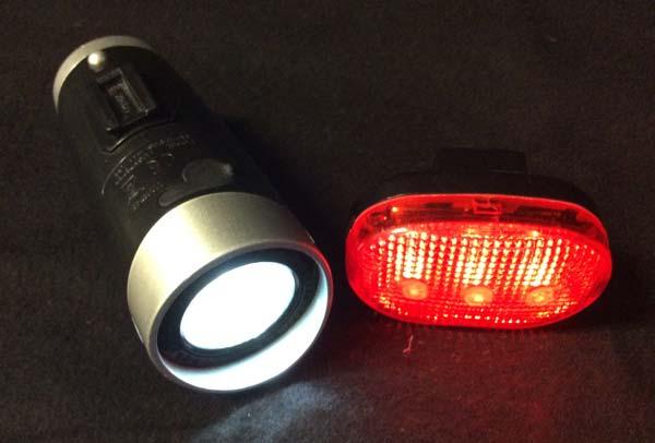 Tragbare LED-Fahradlampen