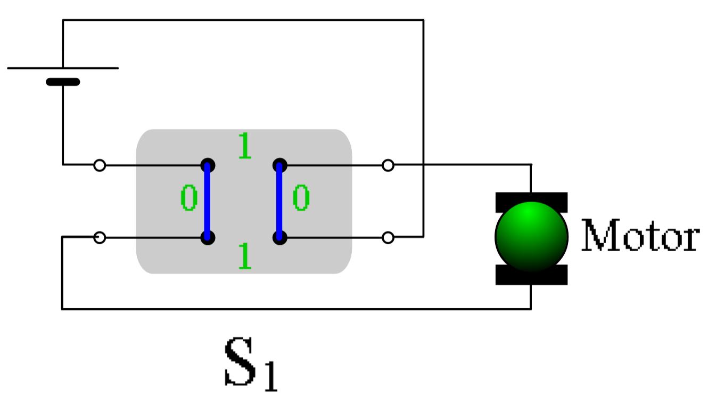 Motorschaltung | LEIFI Physik