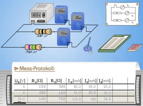 Komplexere Schaltkreise | LEIFI Physik