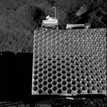 Laserreflektor auf dem Mond