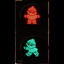LED Anzeige an einer Ampel