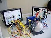Versuchsaufbau Elektronenbeugungsroehre