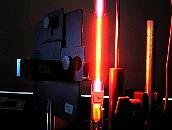 Versuchsaufbau Spektrometer