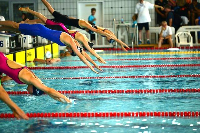 Schwimmen Start